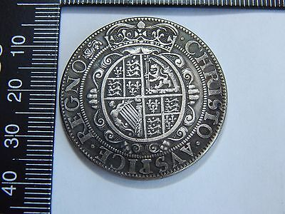 charles 1 1st milled issue half crown 1642-44 york mint 350 year anniversary