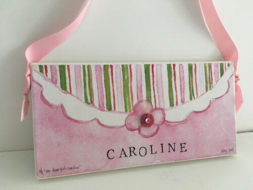 """Nursery wall art """"Caroline"""" Reduced Price"""