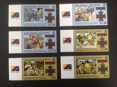 Solomon Islands 2006 Victoria Cross  Set SG 1188-1193 MNH