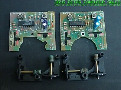 ATARI ST STM1 MOUSE INTERNAL PARTS BOARD CLICKERS BUTTONS WHEELS SPARES