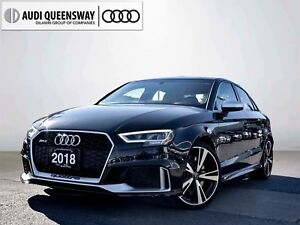 2018 Audi RS 3 2.5T, 400HP, AWD, No Accidents, Lease Me!