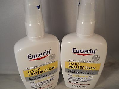 EUCERIN DAILY PROTECTION MOISTURIZING FACE LOTION SPF30  4.O