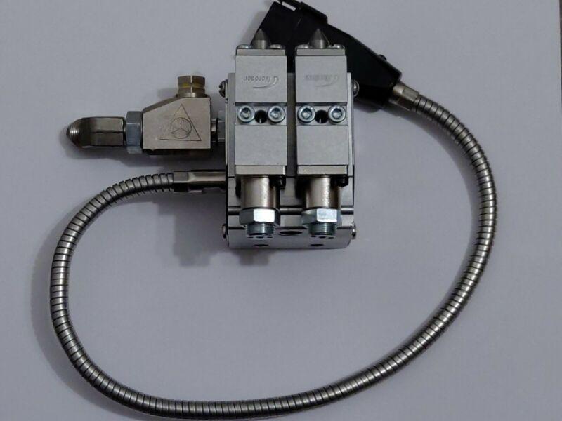 New Hot Melt Applicator Glue Gun H202, 2 glue Modules and filter Assembly.