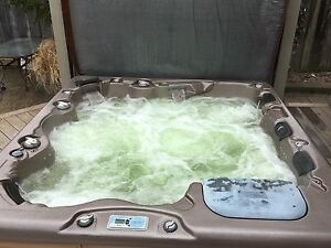 HIGH END VITA SPA CABARET HYDROTHERAPY 7-PERSON HOT TUB