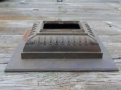 Antique Cast Iron Wood Burning Stove  TOP