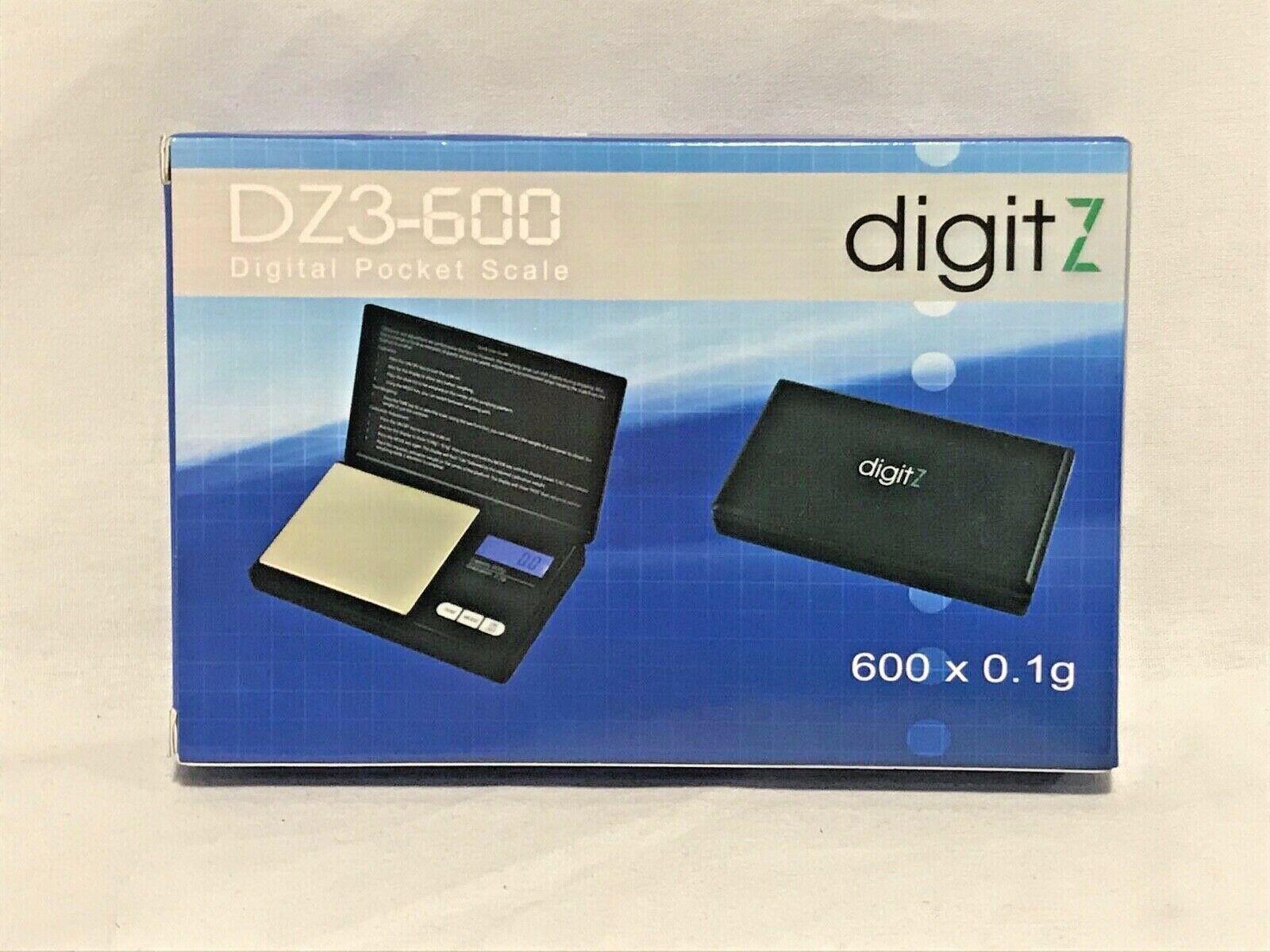 Digit Z DZ3-600 Digital Pocket Scale 600 X 0.1g - NEW - FREE SHIPPING - $9.95