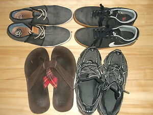 MEN'S 4 pair of SHOES