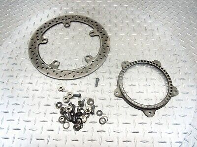 2007 07-09 Bmw R1200RT Front Disc Brake Rotor Straight Ring Bolts Oem