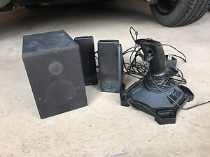 Computer Speakers with subwoofer and joystick