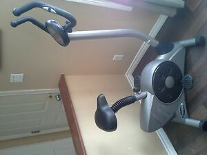 Exercise bike with digital display