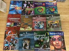 Year 7 - Year 10 Text books, 2010 - 2013 Enmore Marrickville Area Preview