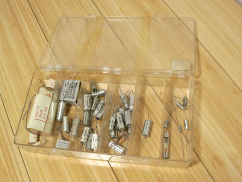 Vintage Sprague Capacitor Collection