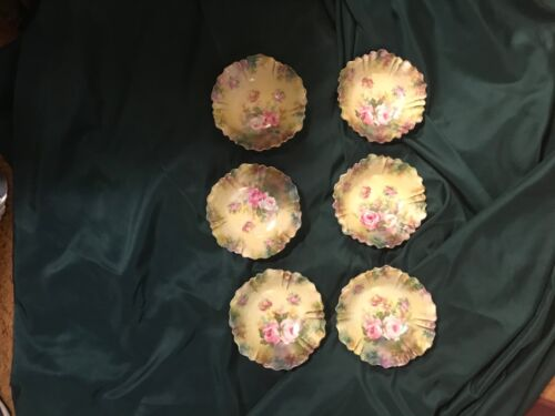 R s prussia set of 6 berry bowls