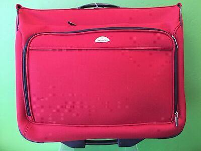 SAMSONITE RED BOARDING WHEELED LUGGAGE BAG