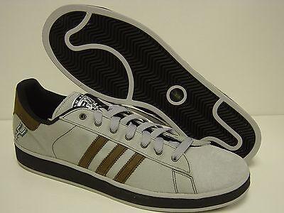 9e3b602f486a New Mens Sz 18 ADIDAS Campus II San Antonio Spurs NBA Grey Sneakers Shoes
