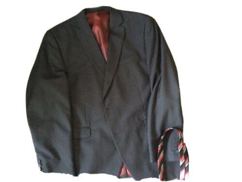Anzug Gr.28 XXL Mit Hemd Und 3 Krawatten