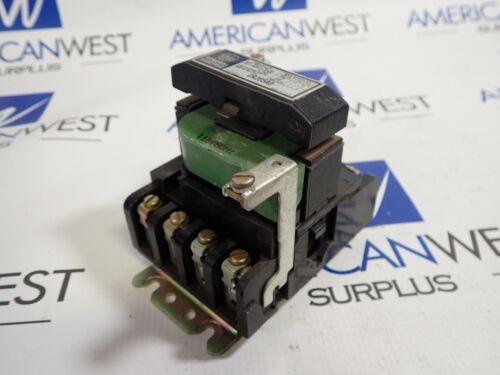 General Electric CR206A0 Nema Size 00 10A 2HP Contactor 120V Coil 55-153472G2
