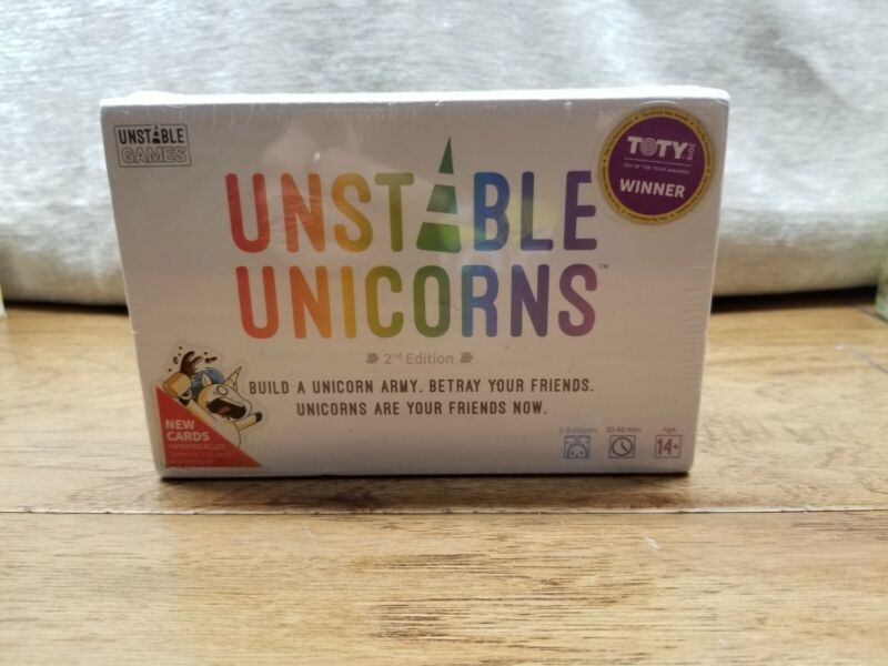 Unstable Unicorns Card Game 2nd Edition 2019