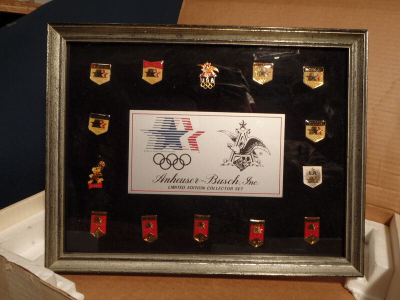 COMPLET SET OF OLYMPIC  BEER PINS