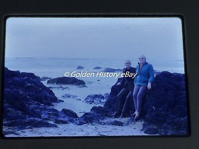 RHOSNEIGR  BAY ANGLESEY 1970S  35mm SLIDE PHOTO PICTURE PHOTOGRAPH