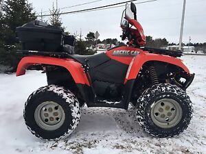 2007 ARCTIC CAT 500 4x4 like new condition