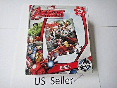 MARVEL Avengers 100 Piece JIGSAW Puzzle AVENGERS Cartoon show US - Us Puzzle