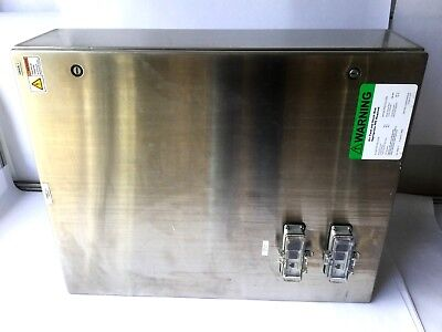 Hoffman Stainless Steel Industrial Control Panel Enclosure Csd30248ss