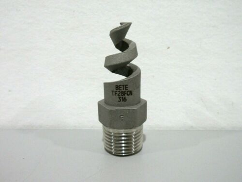 "New Bete TF28FCN 316 1/2"" Spiral Spray Nozzle"