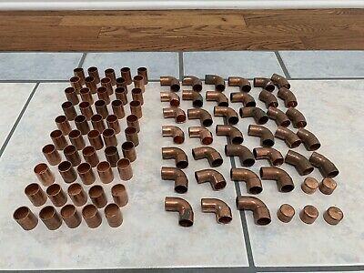 92-copper Plumbing Fittings 12 Soldersweat Street 90scouplings45scaps