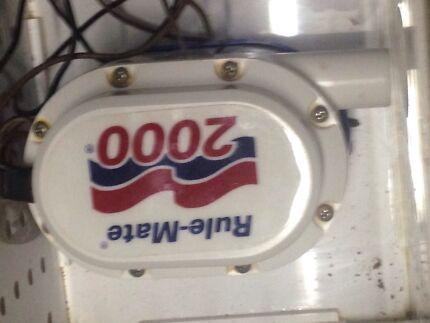 Rule mate 2000 bilge pump  Ipswich Ipswich City Preview