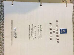 Social Psychology and Human Nature 4th ed
