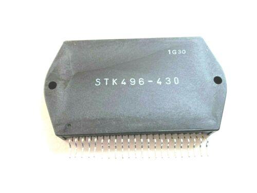 STK496-430 Power Amplifier + Heat Sink Compound New Original SANYO