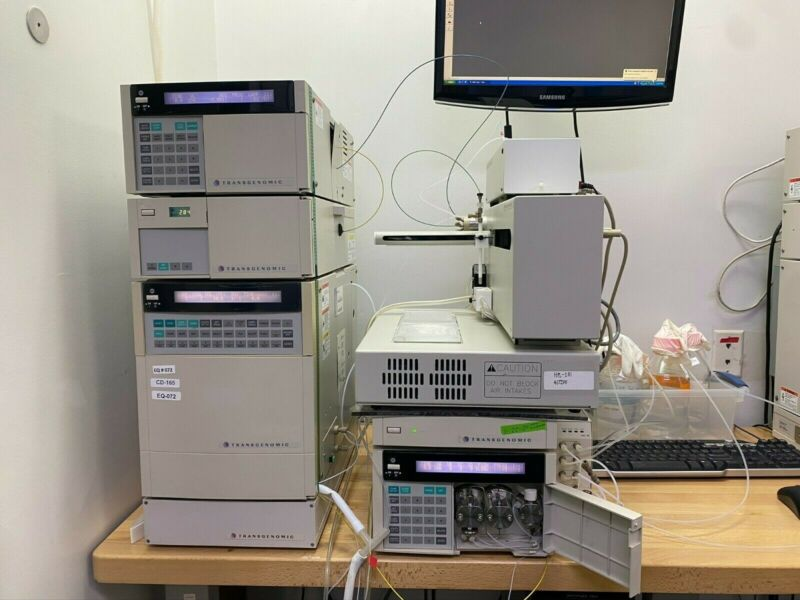 Transgenomic™ Wave Hitachi 3500 HPLC System with Fraction Collector