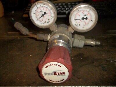 Praxair Prostar Prx31223 Pressure Regulator 3000 Psi Max In 50 Psi Max Out Zz4