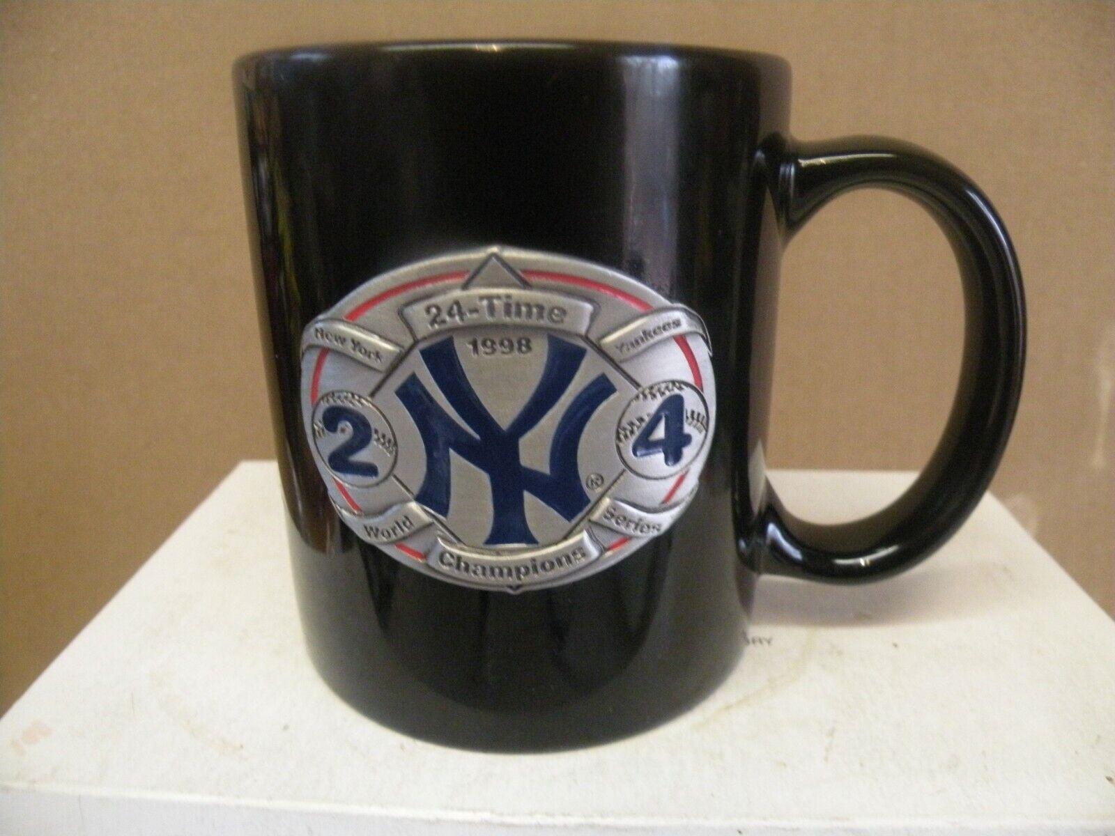 NEW YORK YANKEES 28 TIME WORLD CHAMPIONS COFFEE MUG - $12.00