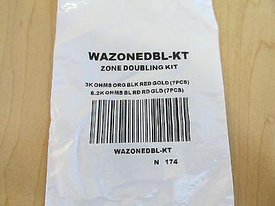 ADEMCO HONEYWELL WAZONEDBL-KT ZONE DOUBLING KIT  *NEW*  Honeywell Ademco Kit