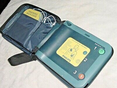 Philips 989803139401 Heartstart Frx Aed Trainer With Training Pads Ii Cased