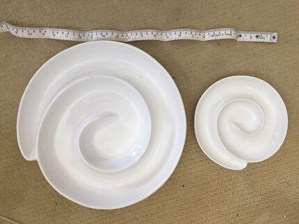 Ceramic antipasto plates & LIVING ART by Stoneage Ceramics set | Dinnerware | Gumtree Australia ...