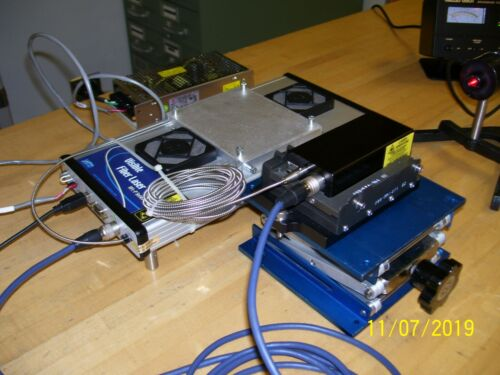 MPB Visible Fiber Laser system 642 nm 1 Watt! Low Hours! Tested to Work Properly