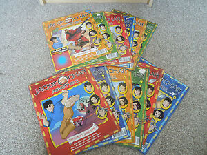 JACKIE CHAN ADVENTURES COMIC ISSUES 1 - 12