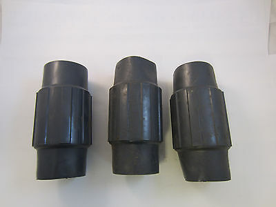 Lot Of 3 Pvc Coated 2 12 Couplings Robroy Ocal Permacote