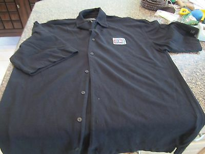 MLB Official Staff 2006 World Series Button-Down Polo Shirt - Black - Large