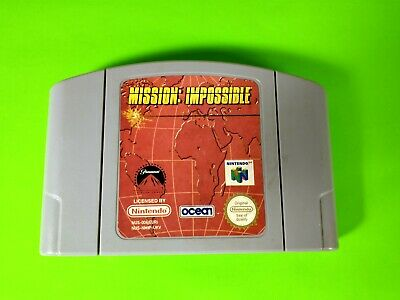 Mission Impossible - Nintendo 64 Cartridge Only - N64 - Cleaned & Tested