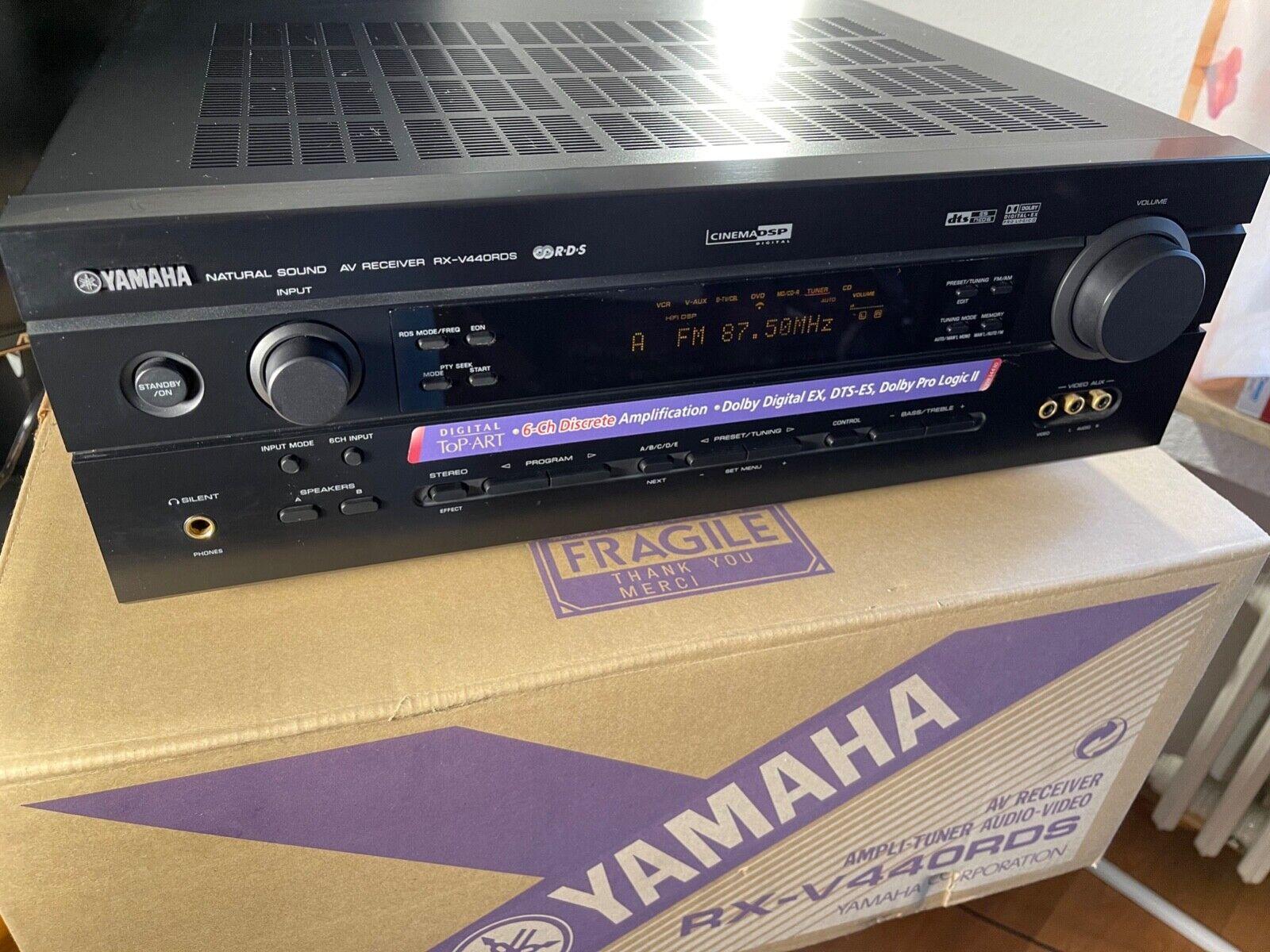 Yamaha RX-V440 RDS 6.1 AV Receiver