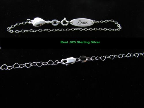 Real silver baby kids bracelets SOLID 925 STERLING SILVER BRACELET LOT OF 2