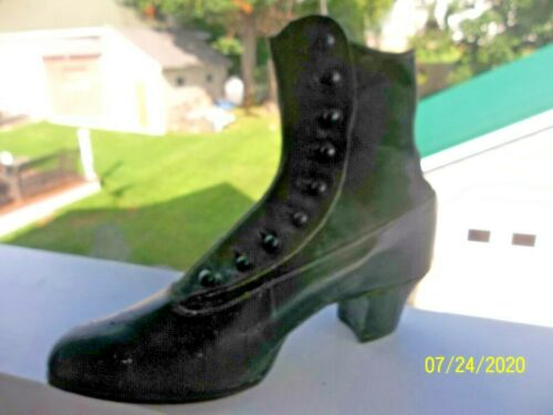 Ladies Vintage Button Up Boot Shoe 1900-1920