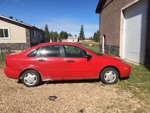 2003 Ford Focus! Great little red car!