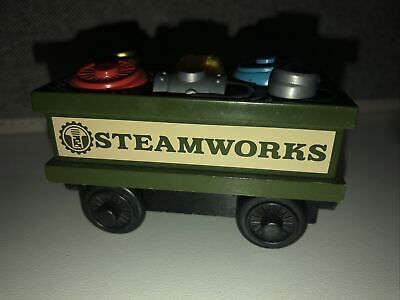 Thomas & Friends Wooden Railway Steamworks SPARE PARTS CAR Wood Train Engine