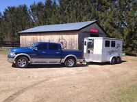 HORSE TRAILERING GTA ERIN GUELPH KING CALEDON ALLISTON PALGRAVE