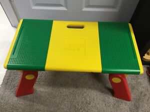 Vintage 1994 Lego Table with storage